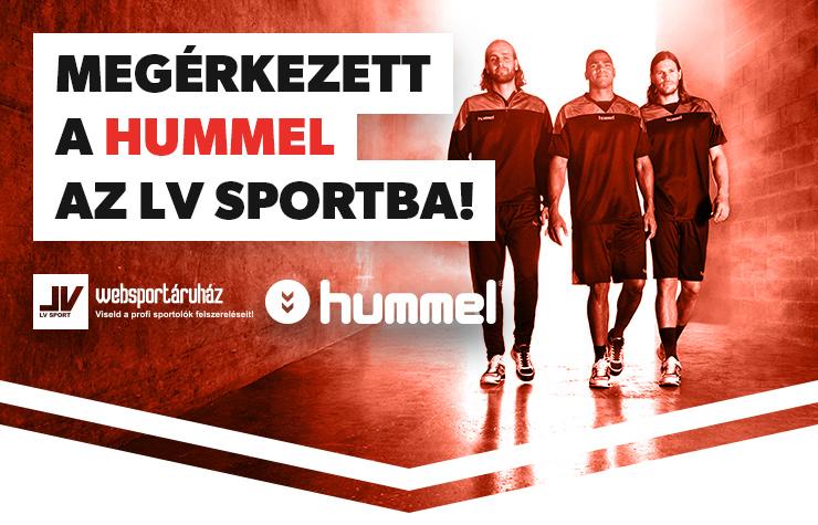Megérkezett a HUMMEL az LV Sportba!